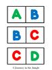 Alphabet Dominoes (uppercase)