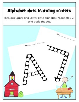 Alphabet Dots Learning Centers