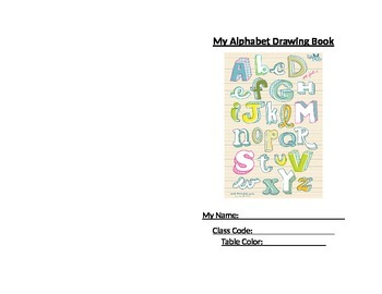 Alphabet Drawing Book