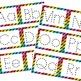 Alphabet Dry-Ease Cards