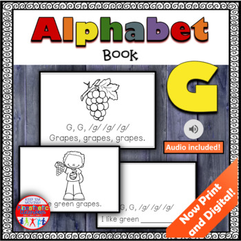 Alphabet Books - Letter Sounds Emergent Reader - G