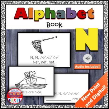 Alphabet Books - Letter Sounds Emergent Reader - N