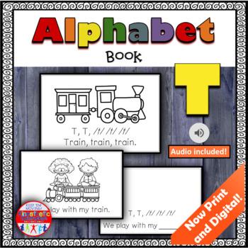 Alphabet Books - Letter Sounds Emergent Reader - T