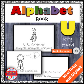 Alphabet Books - Letter Sounds Emergent Reader - U (long)