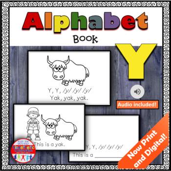 Alphabet Books - Letter Sounds Emergent Reader - Y