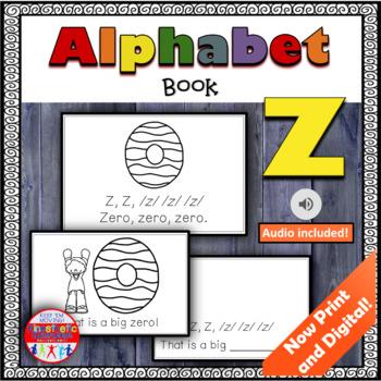 Alphabet Books - Letter Sounds Emergent Reader - Z