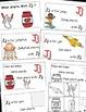 Letter J Alphabet Emergent Reader and Cut and Paste Activi