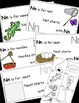 Letter N Alphabet Emergent Reader and Cut and Paste Activi