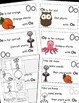 Letter O Alphabet Emergent Reader and Cut and Paste Activi