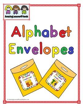 Alphabet Envelope Ss and Tt