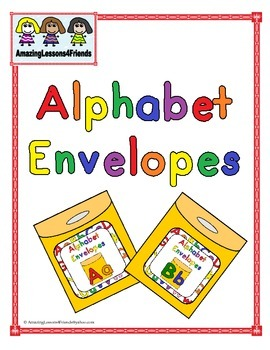 Alphabet Envelopes Aa and Bb