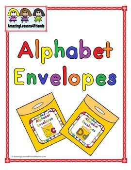 Alphabet Envelopes Cc and Dd