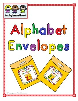Alphabet Envelopes Letter Ii and Jj