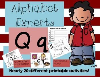 Alphabet Experts Qq