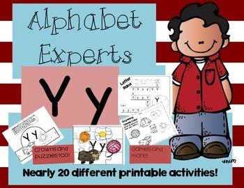 Alphabet Experts Yy