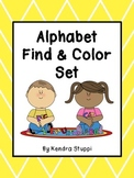 Alphabet Find And Color