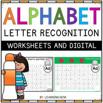 Alphabet Worksheets (Find and Dab)
