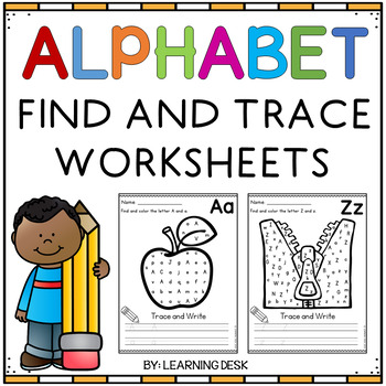 Alphabet Worksheets (Find and Write)