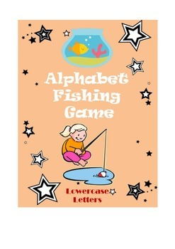 Alphabet Fishing Game (Lowercase Letters)