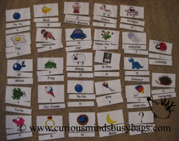 Alphabet Flash Cards - 3 ways to use