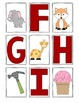 Alphabet Flash Cards - *Bonus Match Cards*