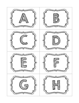 Alphabet Flashcards (upper and lowercase)