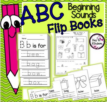 Alphabet Flip Books: Letter Recognition