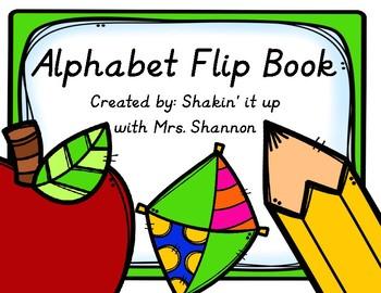 Alphabet Flip Chart Modern Manuscript