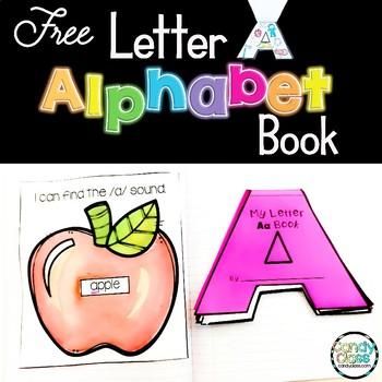Alphabet Flip Book -Letter A- Letter Recognition, Handwrit
