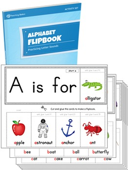 Alphabet Flipbook Activity Set {PRINTABLE}
