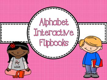 Alphabet Flipbook *FREEBIE* - Preschool