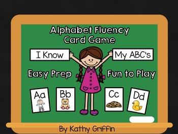 Alphabet Fluency Card Game