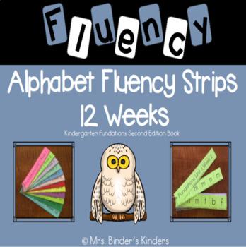 Alphabet Fluency Strips - Unit 1