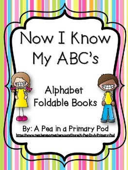 Alphabet Foldable Books