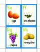 Alphabet Food Flashcards