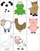 Alphabet Forced Choice RTI {Farm Animals}