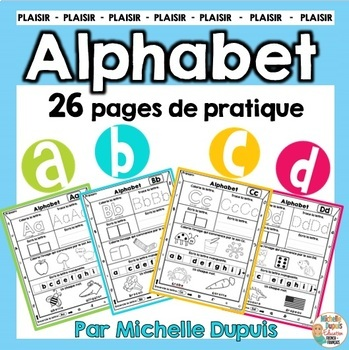 L'Alphabet  - French Alphabet Printables
