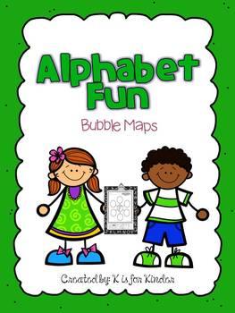 Alphabet Fun: Bubble Maps