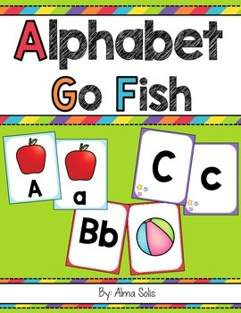 Alphabet Go Fish Game