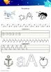 Alphabet Hand Writing Book