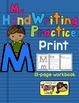 Alphabet HandWriting Practice - Letters Aa to Mm (Print/Ma