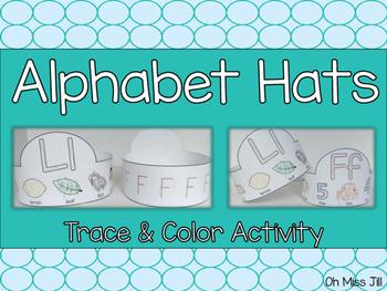 Alphabet Handwriting Letter Hats