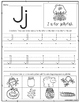 Alphabet Handwriting Pages-ABC Writing