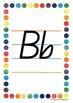 Alphabet Handwriting Posters - Queensland Beginners font (