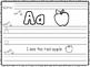Alphabet Handwriting and Sentence Practice