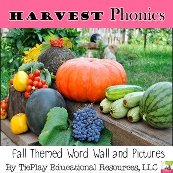 Harvest Word Wall