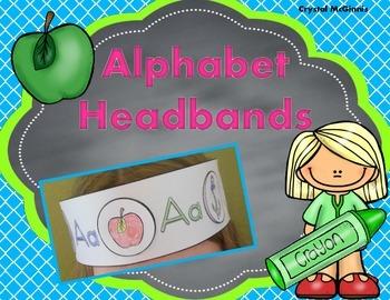 Alphabet Headbands! Beginning Letter Sound Activity