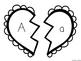 Alphabet Heart Matching - Ink Friendly!