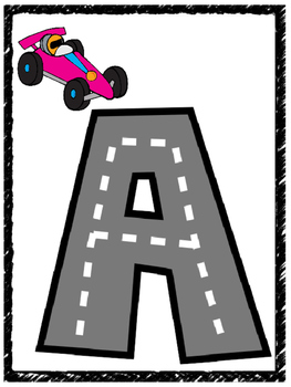 Alphabet Highway Letters