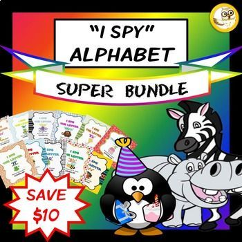 Alphabet Activities Bundle (Letters A-Z: Games, Posters &